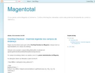 magentotal.blogspot.com.br screenshot