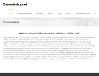 magentowebshop.org screenshot