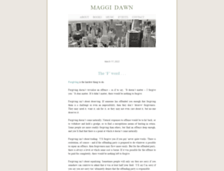 maggidawn.net screenshot