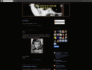 maggiesfilmjournal.blogspot.co.nz screenshot