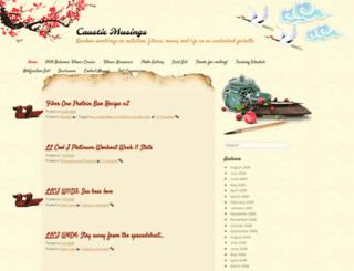 maggiewang.com screenshot