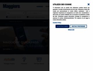 maggiore.it screenshot