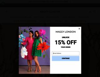 maggylondon.com screenshot