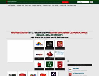 maghreb-radio.com screenshot