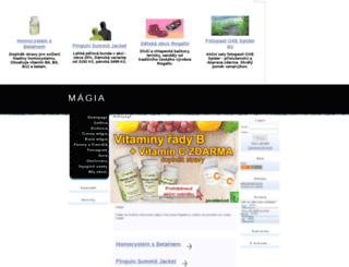 magia.wgz.cz screenshot