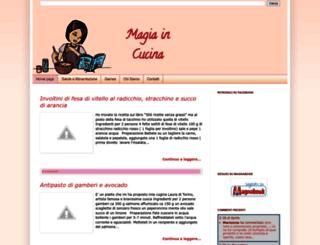 magiacucina.blogspot.it screenshot