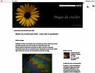 magiadocrochet.blogspot.com screenshot