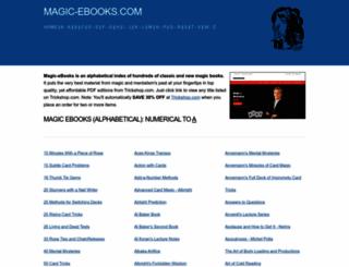 magic-ebooks.com screenshot