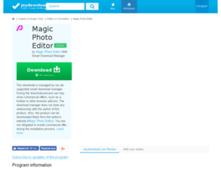 magic-photo-editor.joydownload.com screenshot