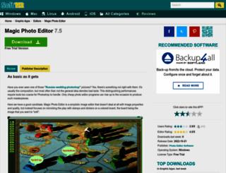 magic-photo-editor.soft112.com screenshot