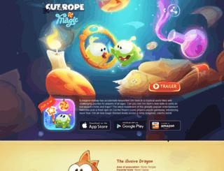 magic.cuttherope.net screenshot