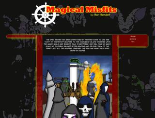 magicalmisfits.net screenshot
