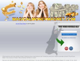 magicalmoneymagnet.com screenshot
