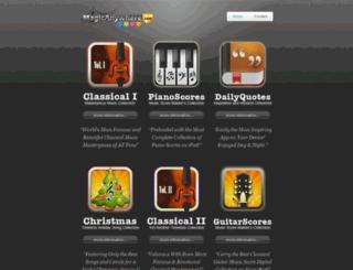 magicanywhere.com screenshot