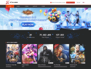magicbarrage.r2games.com screenshot