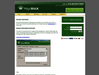 magicbulk.com screenshot