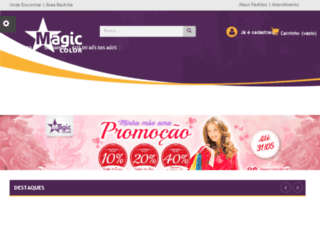 magiccolor.net.br screenshot