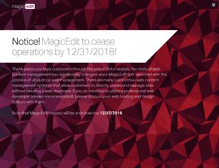 magicedit.com screenshot