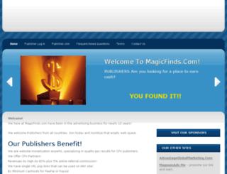 magicfinds.com screenshot