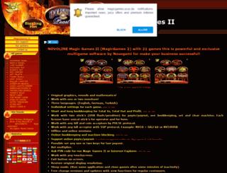 magicgames.ucoz.de screenshot
