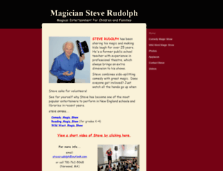 magiciansteverudolph.com screenshot