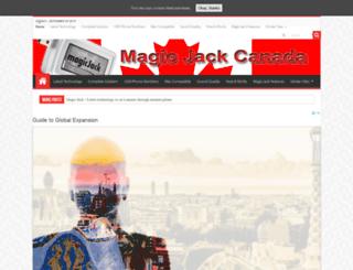 magicjackcanada.ca screenshot