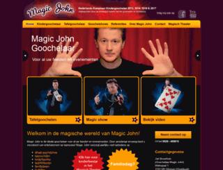 magicjohn.nl screenshot