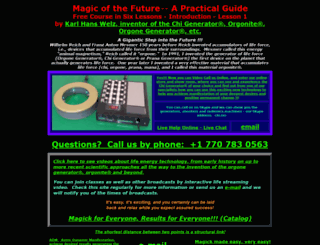 magickcourse.com screenshot
