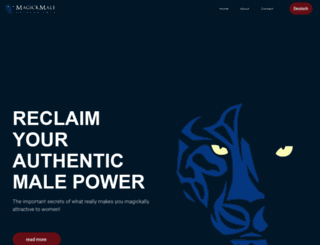 magickmale.com screenshot