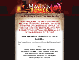 magickpower.com screenshot