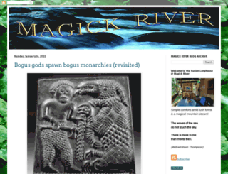 magickriver.org screenshot