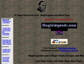 magiclegends.com screenshot
