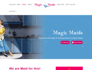 magicmaids.org screenshot