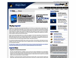 magicmail.linuxmagic.com screenshot