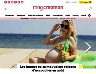magicmaman.com screenshot