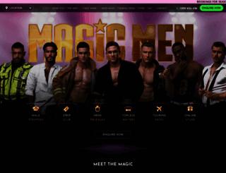 magicmen.com.au screenshot
