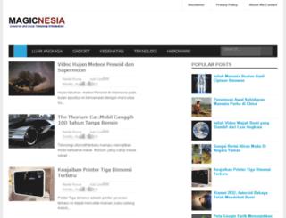 magicnesia.blogspot.com screenshot