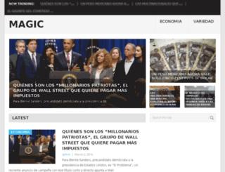 magicnews.info screenshot
