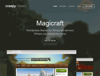 magicraft.creepy.cz screenshot