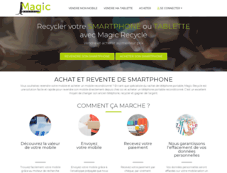magicrecycle.com screenshot