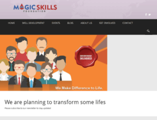 magicskills.org screenshot