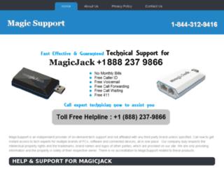 magicsupport.net screenshot