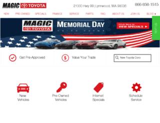 magictoyota.com screenshot