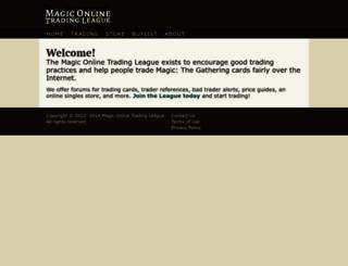 magictraders.com screenshot
