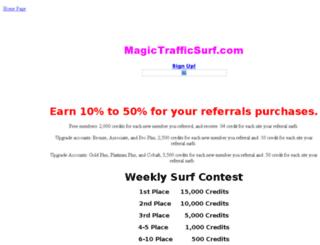 magictrafficsurf.net screenshot