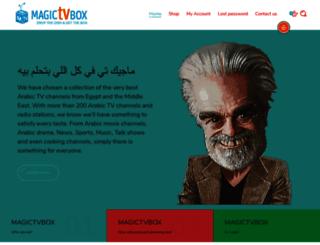magictvbox.com screenshot