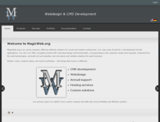 magicweb.org screenshot