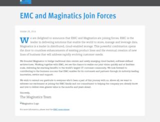 maginatics.com screenshot