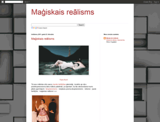 magiskaisrealisms.blogspot.com screenshot