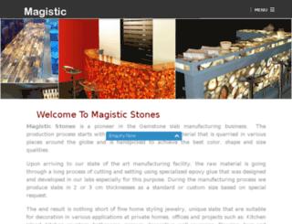 magisticstones.com screenshot